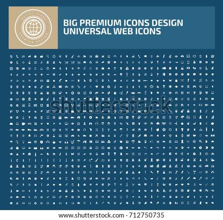 Big icon set icon set,vector