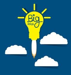 Big idea concept vector illustration.