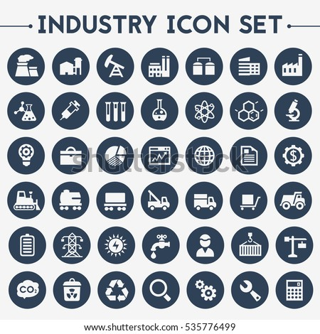 Shutterstock Big Industry icon set