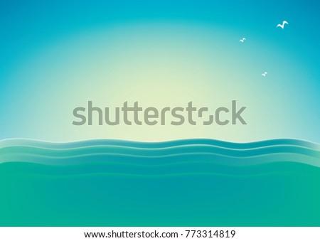 big open ocean