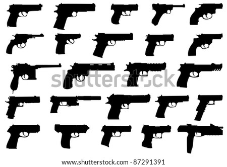 big pack firearms (pistols)