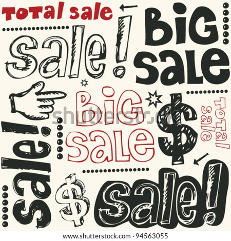 big sale crazy doodles