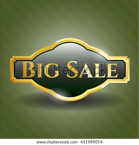 Big Sale gold badge