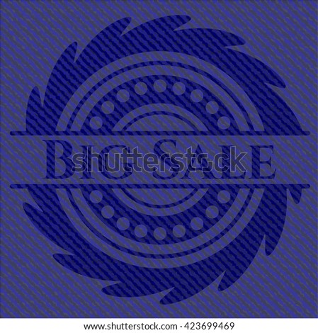Big Sale with jean texture