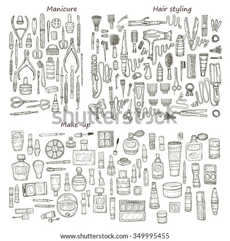 big set of 146 beauty  products