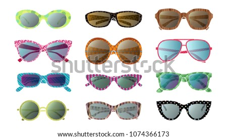 big set of isolated vector