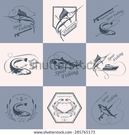 big set of logos  badges