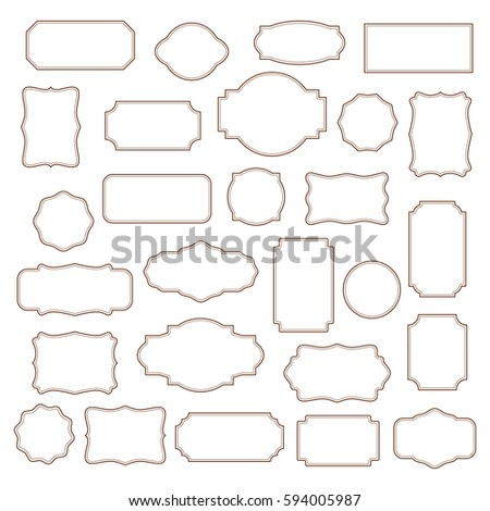 stock-vector-big-set-of-old-vintage-frames-isolated-on-white