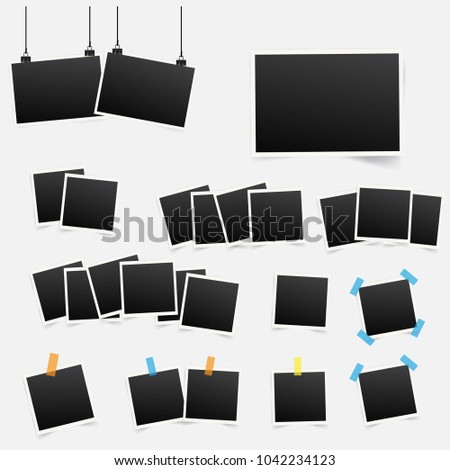 collection of photo frames design - Descargue Gráficos y Vectores Gratis