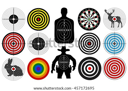 big set of targets isolated