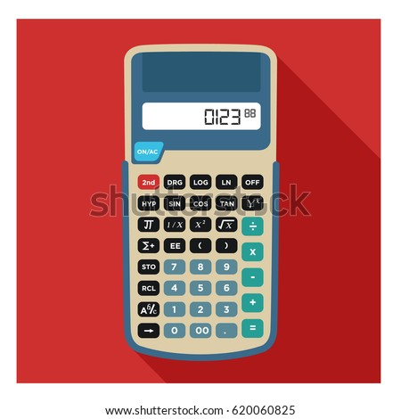big tall scientific calculator for student