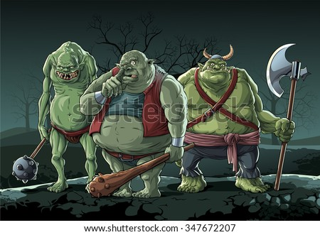 big trolls