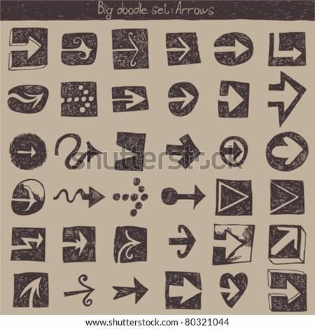big vector set - arrows