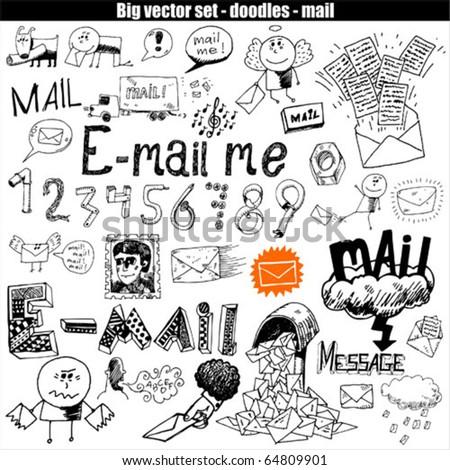 big vector set : mail