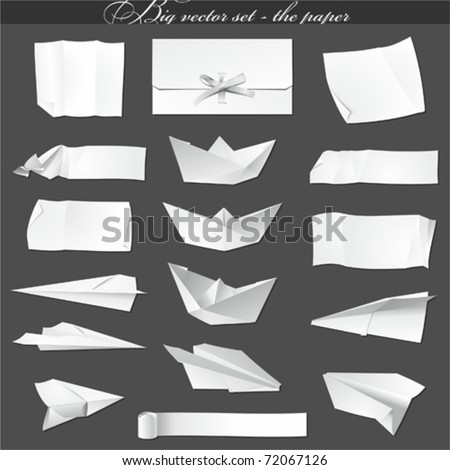 big vector set - paper