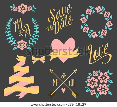 stock-vector-big-wedding-graphic-set-isolated-on-black-286418129.jpg