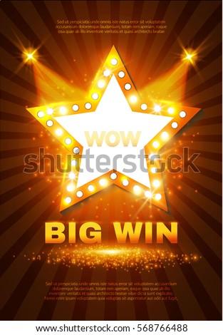 big win retro shining star
