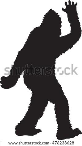 Bigfoot Free Vector Download 0 Free Vector Graphic