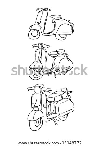 Girl Sitting On Knees Confused Young 200609855 further Stock Illustration Set Hand Drawn Balancing Scooter Segway Vector Illustration Skatecycle Two Wheeled Motorized Personal Vehicle Consisting Image74204599 further Stock Vector Sport And Healthy Lifestyle Doodle Set further Dir Kids Baby furniture And Decorations children S Bookcase 0107368 as well Desert Island Vector Thin Line Icon 591309104. on scooter for two people