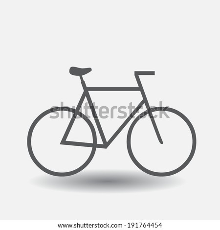 Bike vector icon