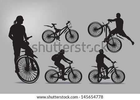 bike vector illustration