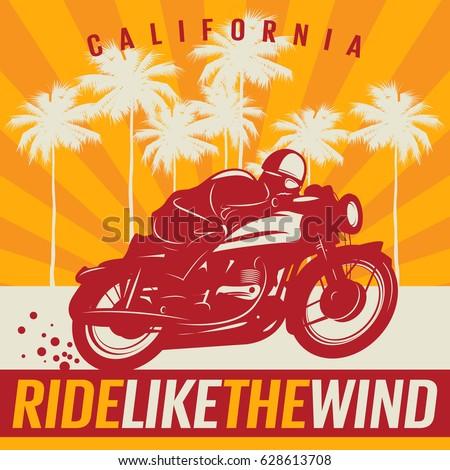 biker riding a motorcycle