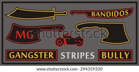biker's patch