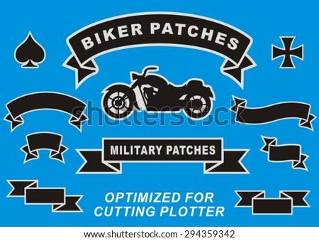 biker's stripe  military stripe