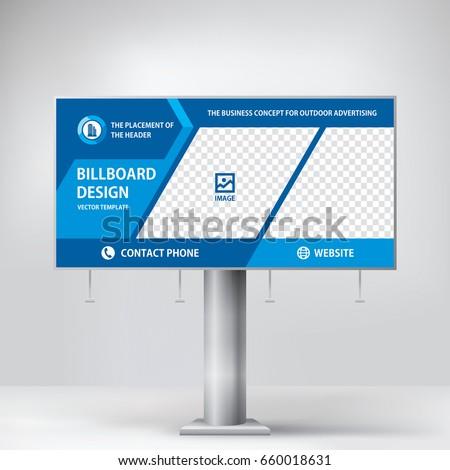 billboard design  to advertise