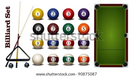 Billiard Accessories Set
