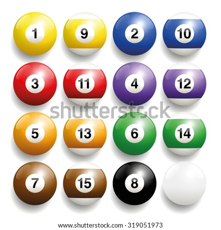 billiard balls   commonly used