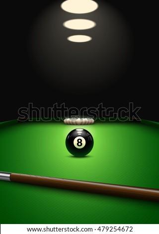 billiard game background balls