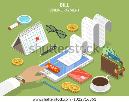 bills online payment flat