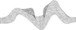 Binary code chaos wave. Digital technology. Data Sorting. Artificial intelligence.Big data.Smart system.