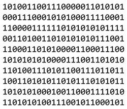 binary code vector symbol icon design. Beautiful illustration ready to use