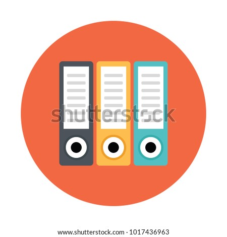 binders vector icon