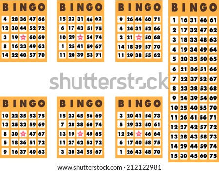 Bingo Cards Free Vector Art 87 Free Downloads