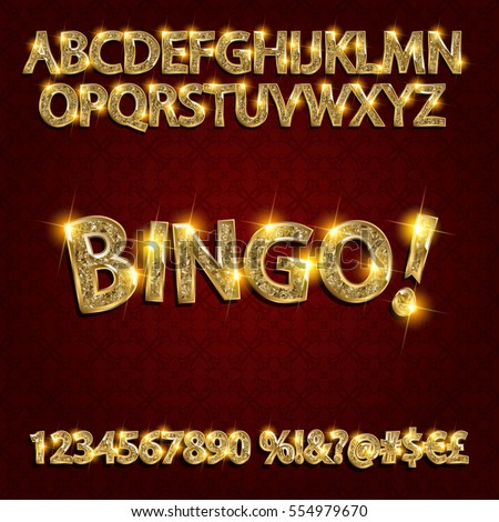 stock-vector-bingo-golden-glowing-alphabet-and-numbers-on-a-dark-background-vector-illustration-for-your