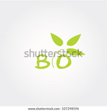 bio icon, vector bio icon,