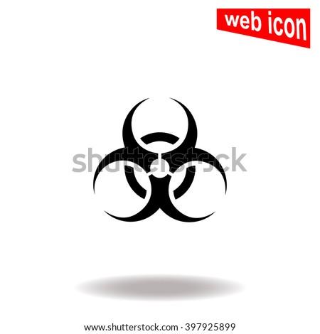 biohazard icon biohazard icon