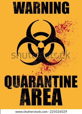 biohazard quarantine area