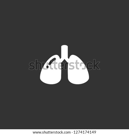 biology icon vector. biology vector graphic illustration