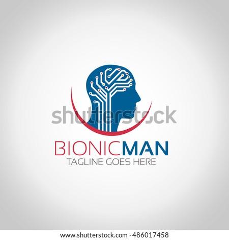 bionic man logo
