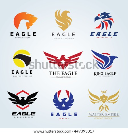 bird and eagle logo collection