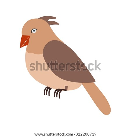 Bird, birds, nature icon vector image. Can also be used for Animals and Insects. Suitable for mobile apps, web apps and print media.