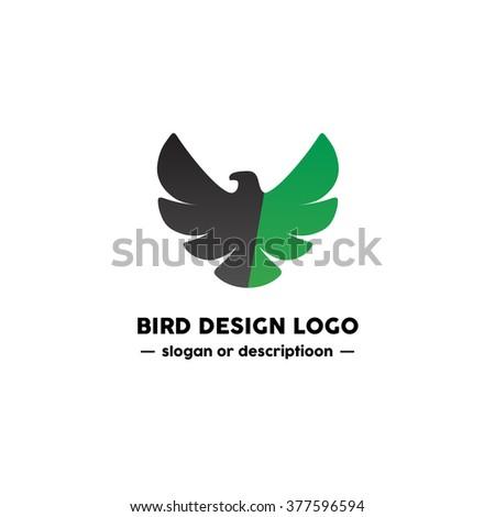 bird logo design modern and