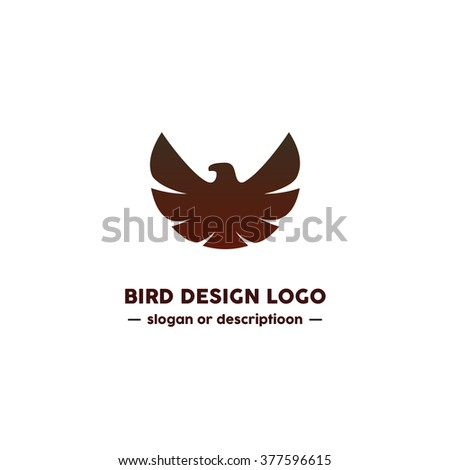 bird logo design modern and