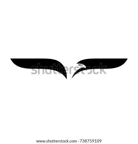 bird logo vector eagle logo