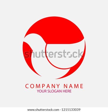 bird logo vector illustration company business