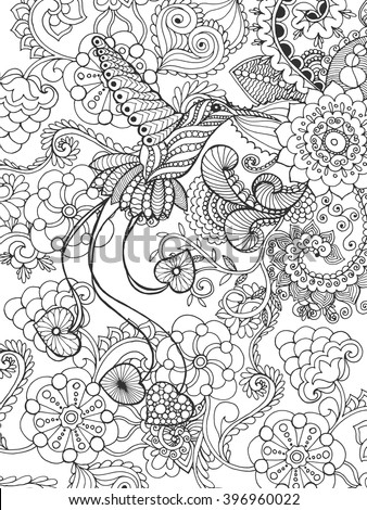 bird of paradise in fantasy...